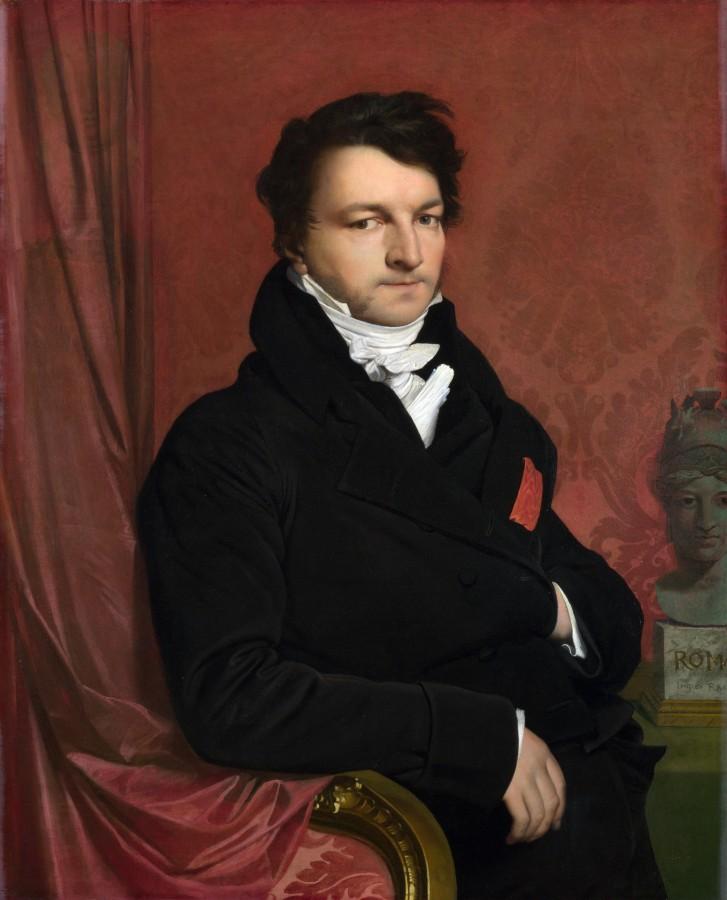 1818_Портрет месье de Norvins (97.2 х 78.7 см) (Лондон, Национальная галерея)