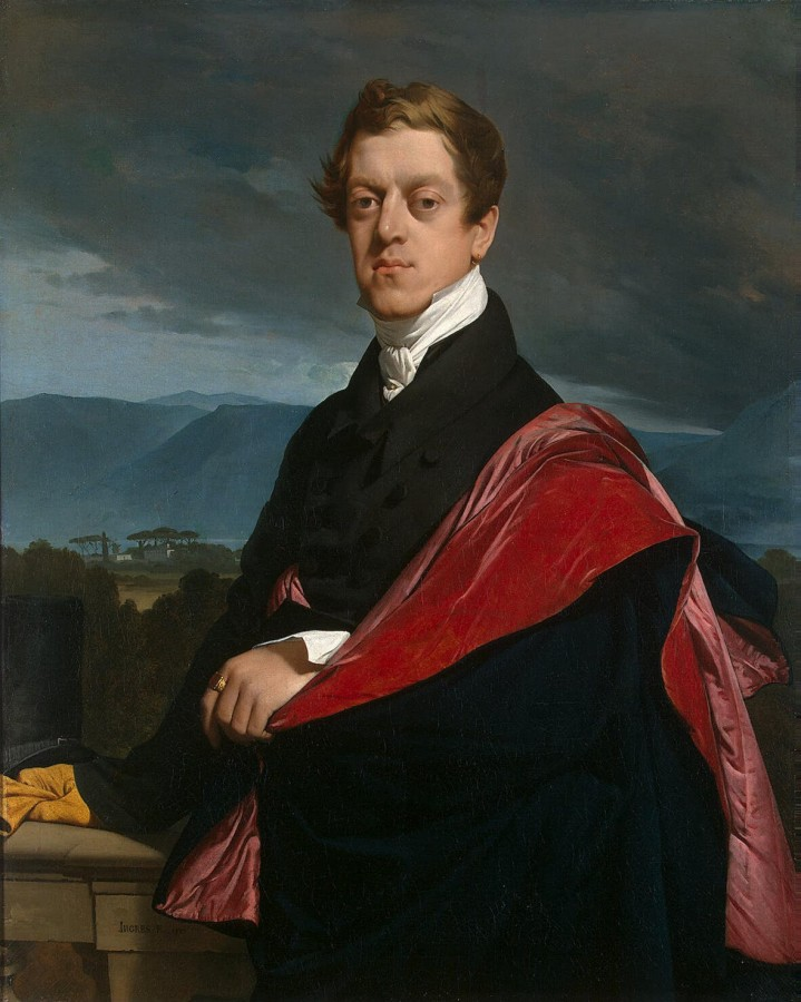 1821_Портрет графа Н. Д. Гурьева (107 х 86 см) (С-Петербург, Эрмитаж)