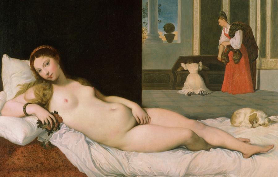 1822_Лежащая Венера (116 х 168 см) (Балтимор, музей Уолтерса)