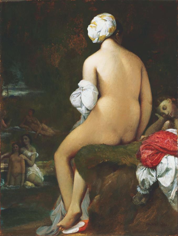 1826_Малая купальщица (128.8 х 98.8 см) (Вашингтон, коллекция Филипс)