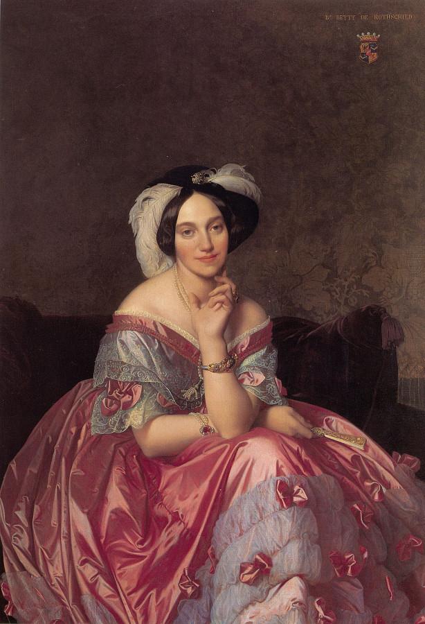 1848_Портрет баронессы де Ротшильд (141.9 х 101 см) (частное собрание)