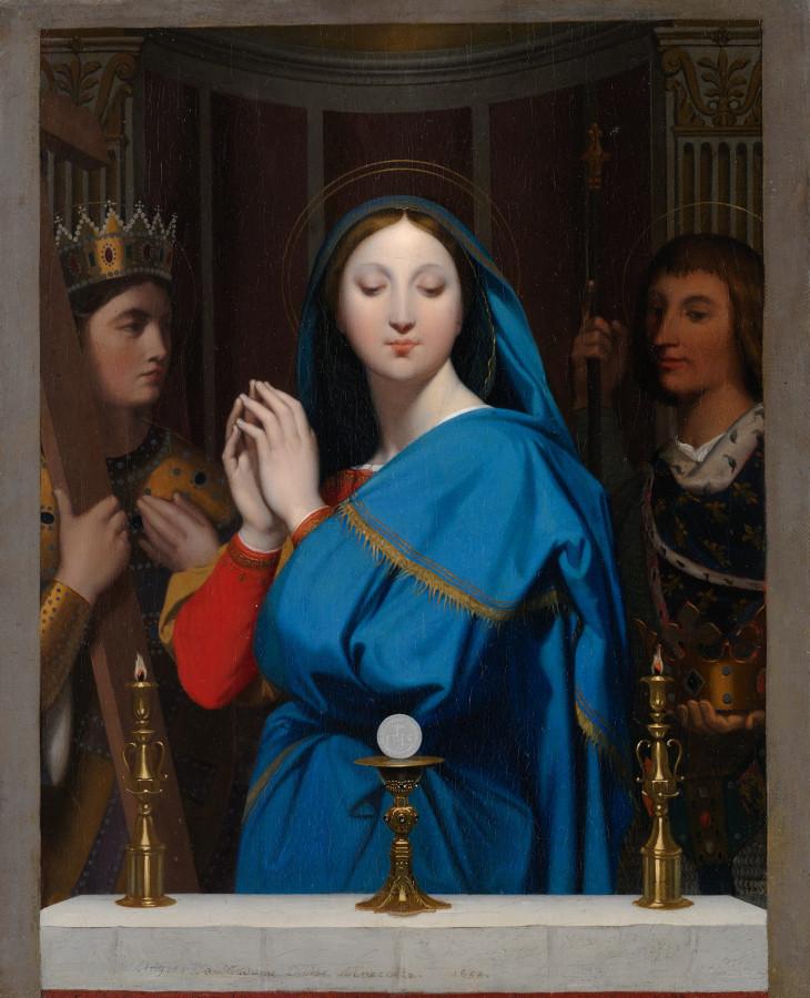 1852_Мадонна со святыми (40.3 х 32.7 см) (Нью-Йорк, Метрополитен)