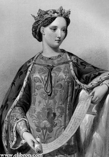 Французская Волчица Королева Англии. Изабелла