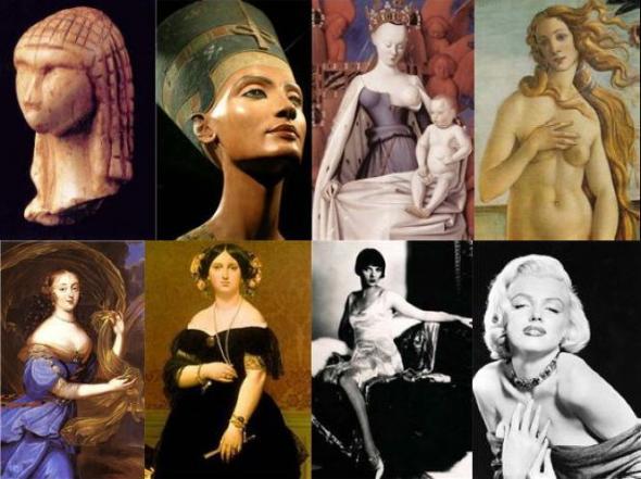 Идеалы мужской красоты в разные эпохи