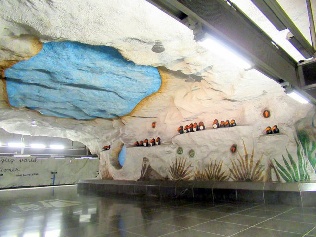 швеция, метро-4