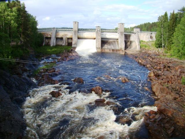 waterfall,  imatra,  finland