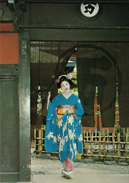 Их нравы & 京都の舞妓