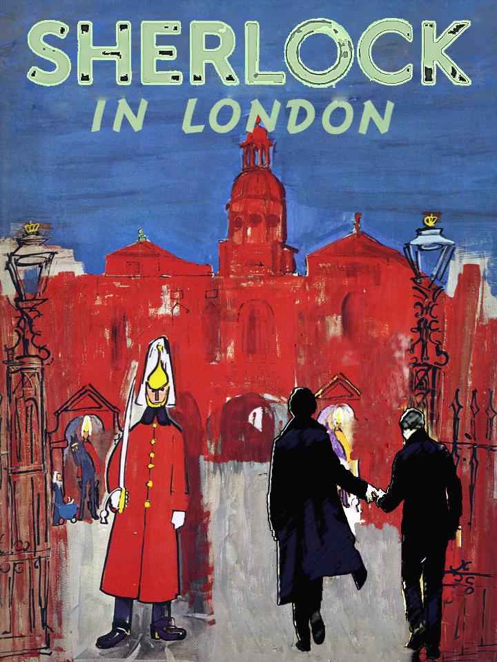 Sherlock in London Cover