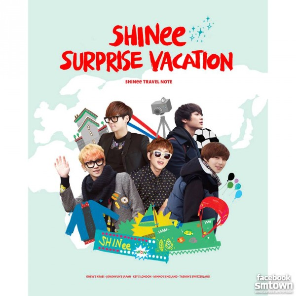 shinee travel note