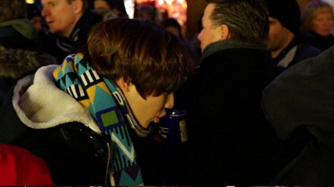 taebb drinking