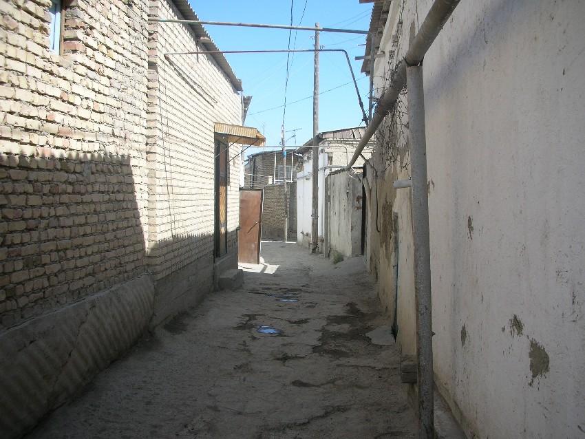 Типичная бухарская улочка