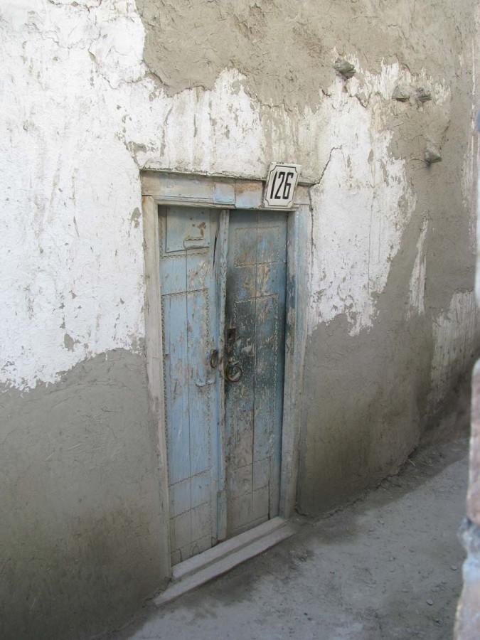 Двери бухарского дома