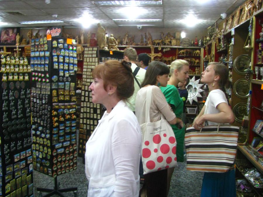 Сувенирный магазин в Вифлееме