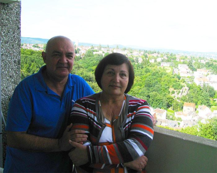 Анна и Виктор - наши немецкие друзья