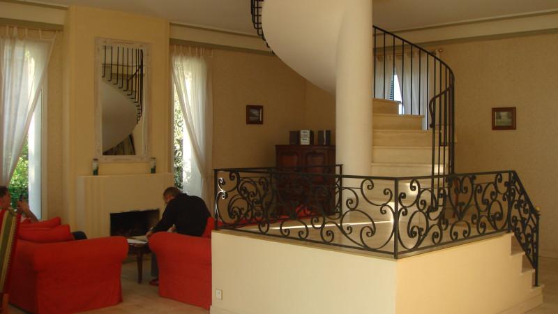 Гостиная нашего дома в долине Луары.