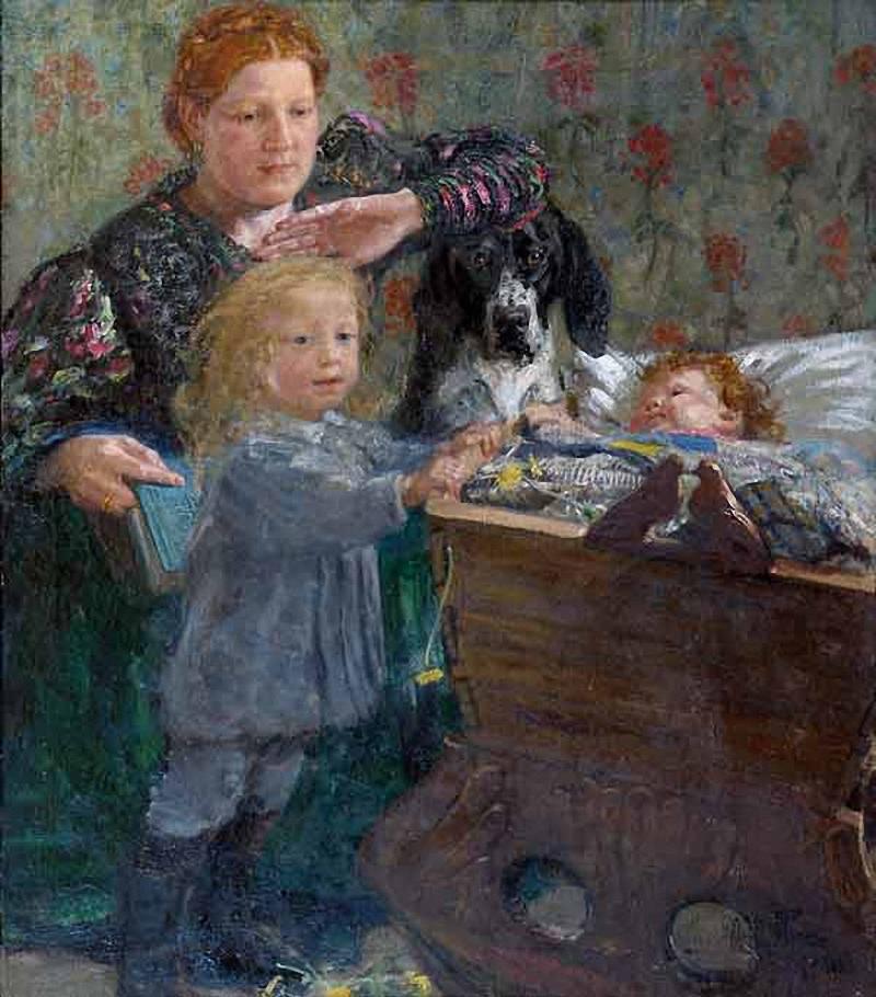 Жена Прасковья с сыновьями, о которых ниже.
