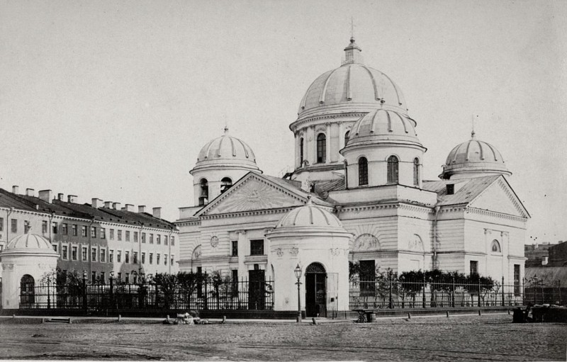 Знаменская церковь работы Демерцова.