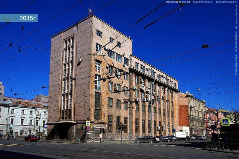 А вот что построили на месте Сергиевской церкви- приемная КГБ (сейчас, вероятно, ФСБ?).