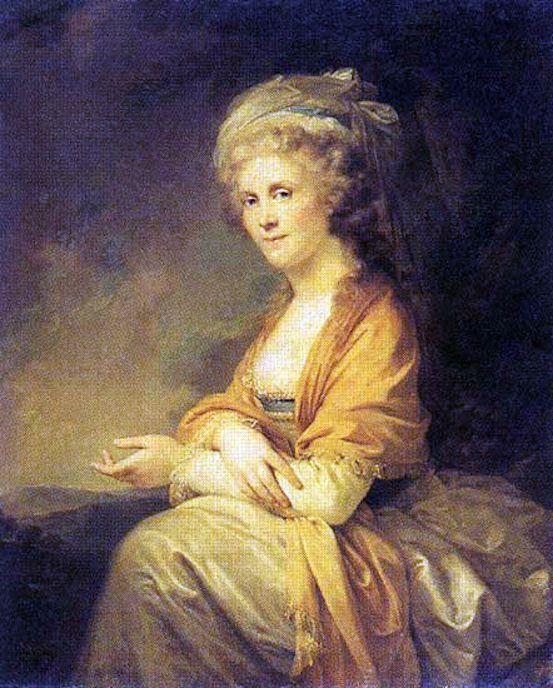 А вот лукавая сестричка Екатерина Трубецкая увековечена.