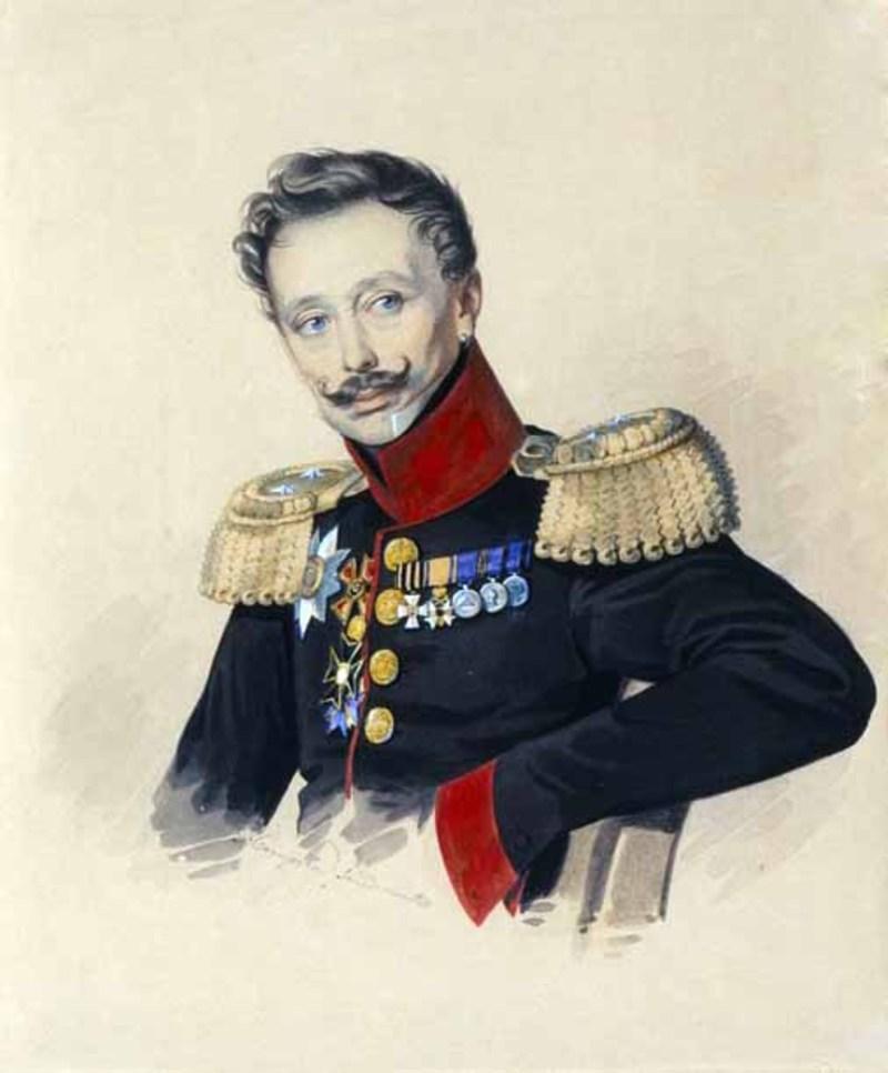 Бравый Федор Федорович Гагарин, сын убиенного генерала.