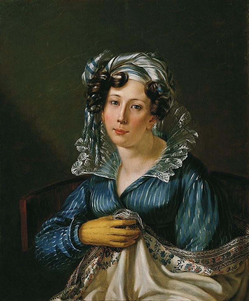 Вера Федоровна Вяземская. Готова была помогать Пушкину сбежать заграницу из Одессы. Он звал ее на роль посаженой матери на свою свадьбу.