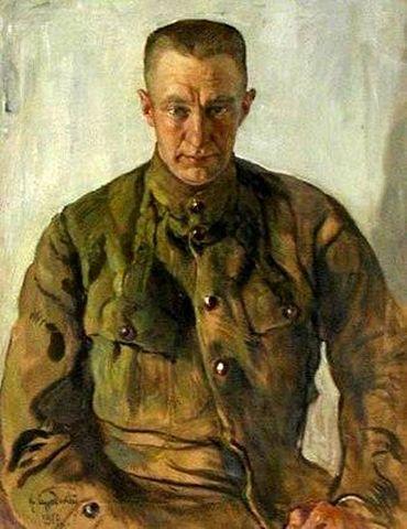Портрет Керенского. 1918 г.