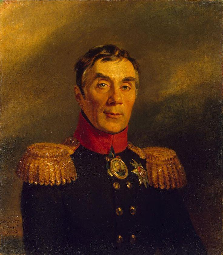 Из Эрмитажа. Портрет находится в галереи героев войны 1812 года.