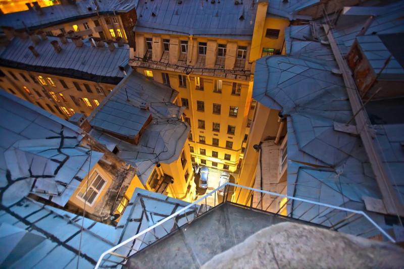 Прекрасны крыши в нашем городе! Рекомендую!