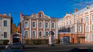Ректорский дом ЛГУ.