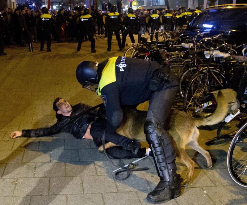 Амстердам и его полиция.