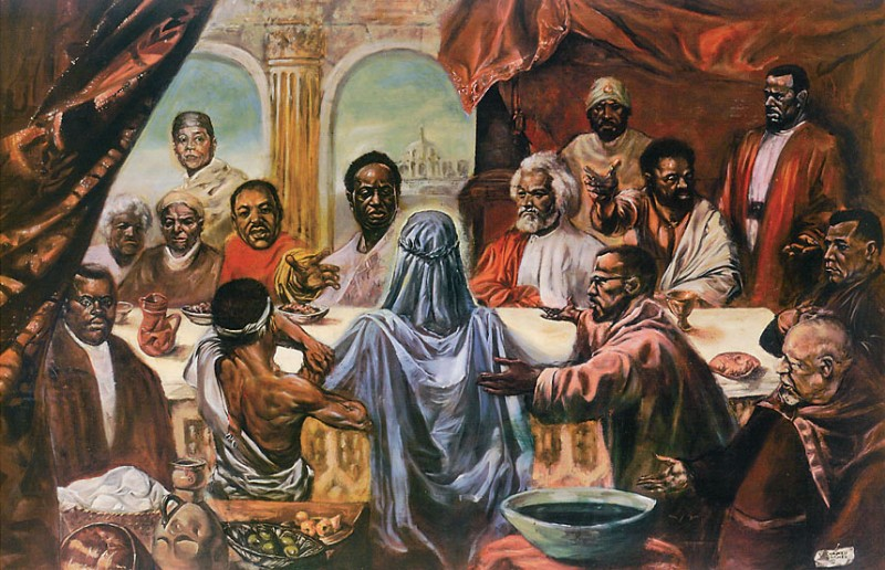 Люди спрашивают, где написано, что Адам, евреи и парень из Назарета не были неграми?
