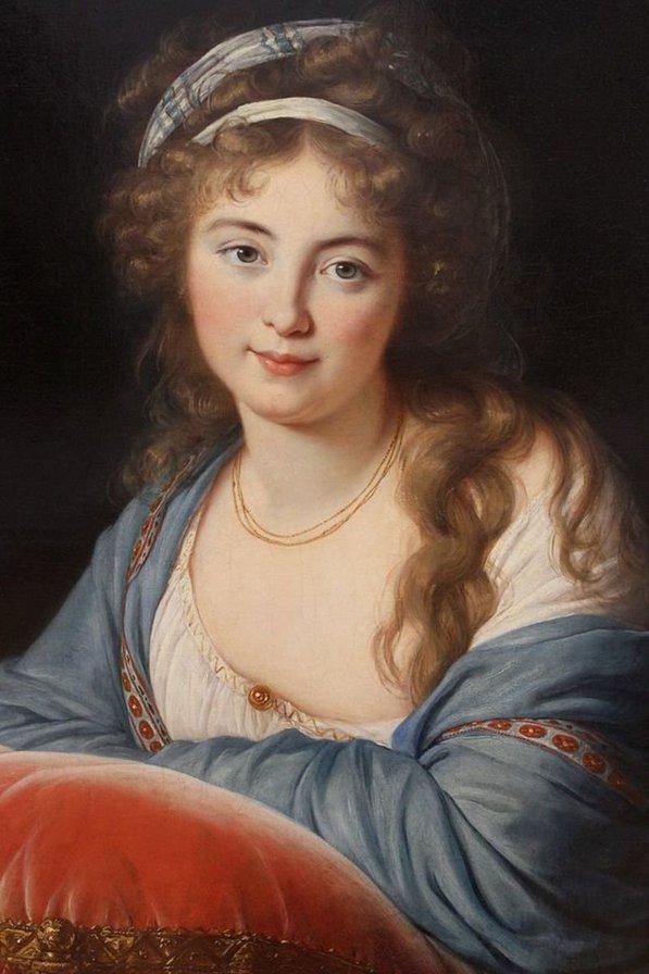 Единственный портрет, на котором Екатерина Алексеевна не похожа на мужа Петю.