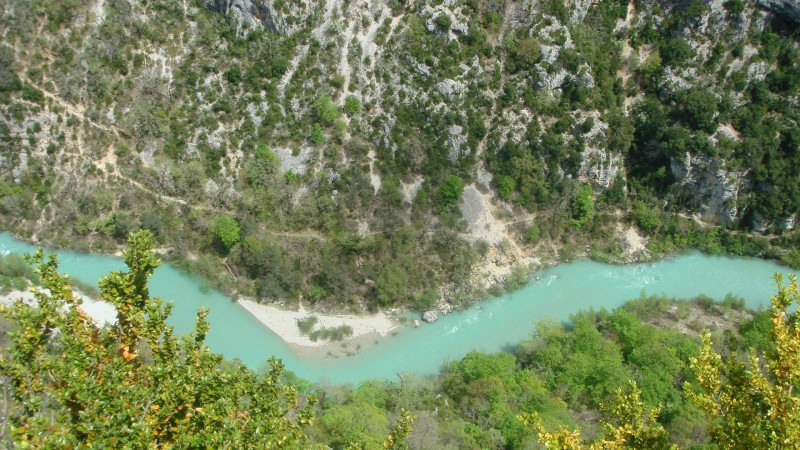 Это низовья, река относительно широкая.