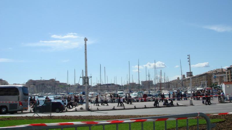 Марсельская бухта.