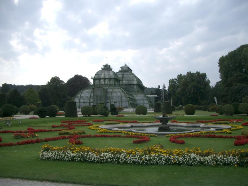 Парк и оранжереи просто блеск!