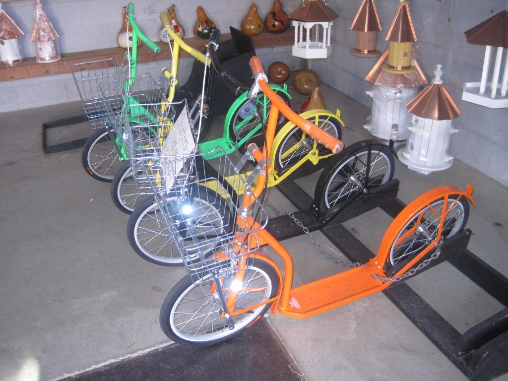 Велосипед нельзя. а самокат можно!
