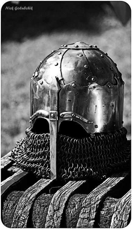 Древний шлем