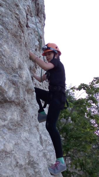 Дочь на скале