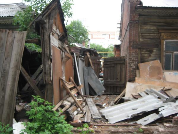 дом пл.Куйбышева и дворы к полевой,с Никитой 195