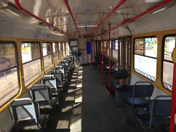 В трамваях №16, 38, 43 и 11 на