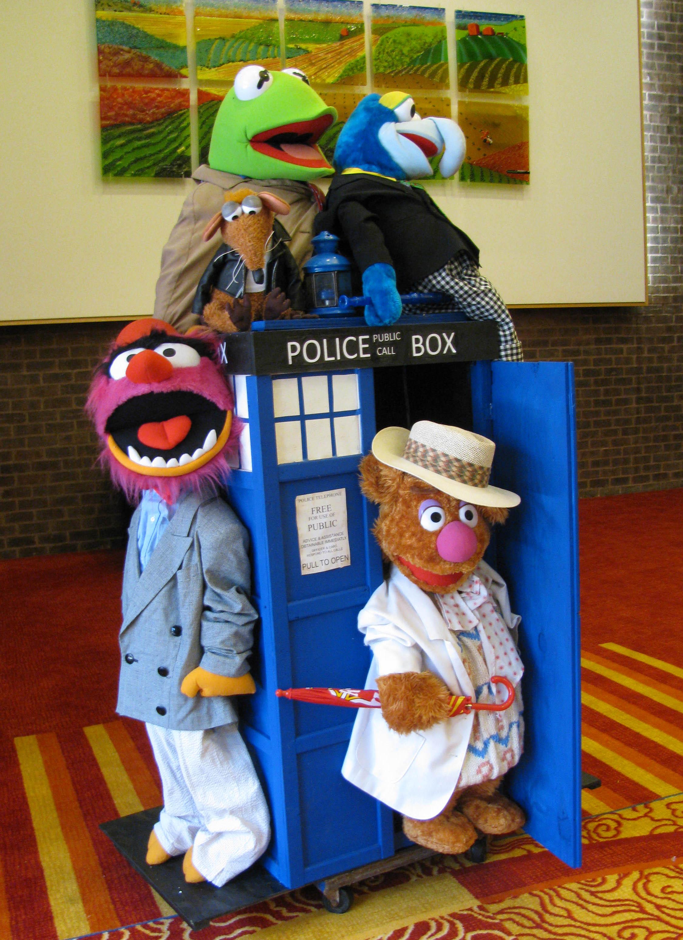 Muppet Tardis