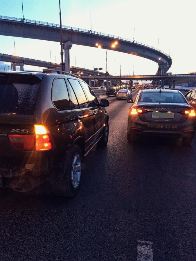 Лживая сволота на дорогах Москвы