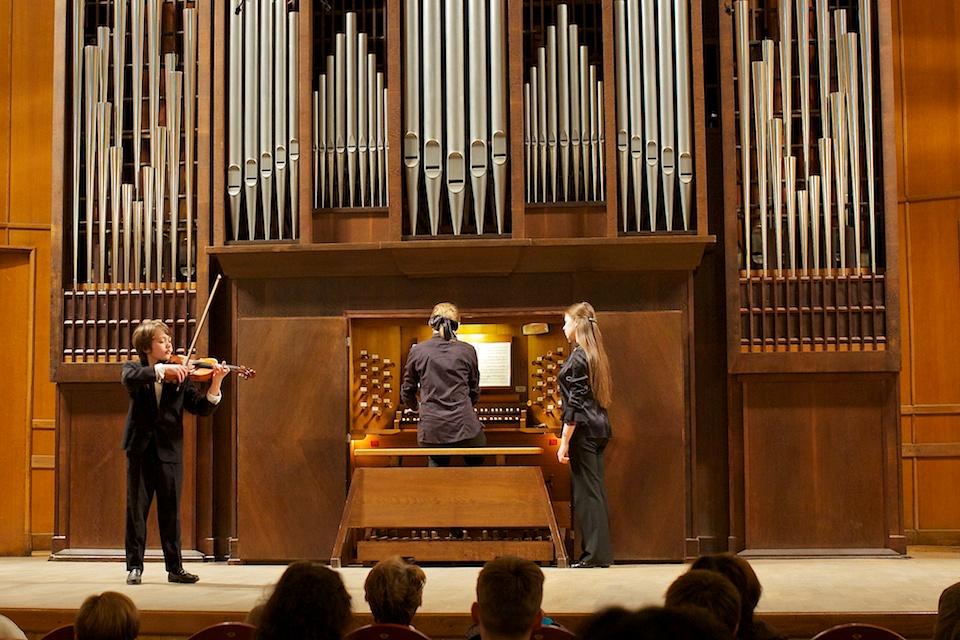 Скрипка и орган