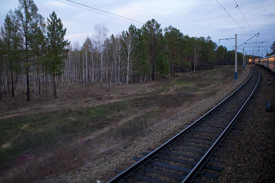 Поезда - № 44 Москва-Хабаровск и встречный