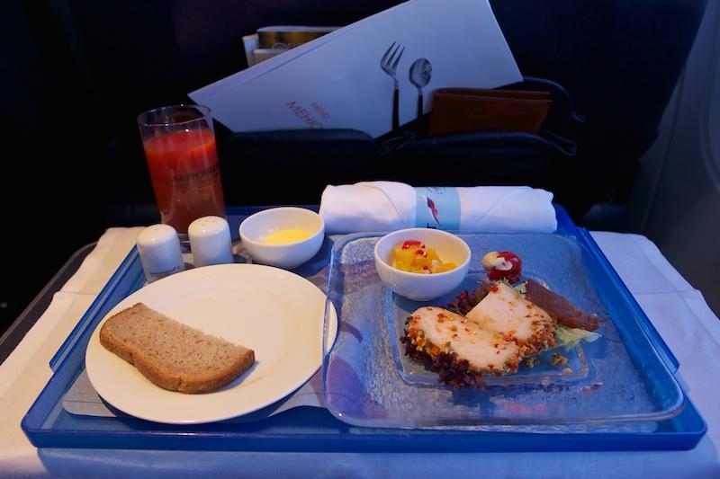 Закуска в самолете