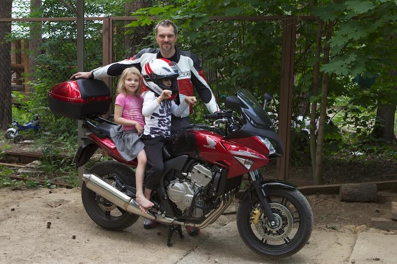 Мотоцикл всем понравился :)
