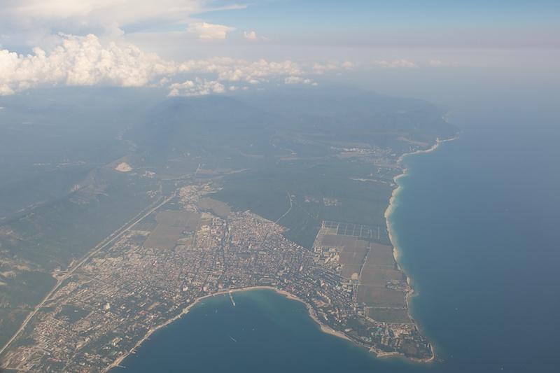картинки геленджик с самолета цитрусовых