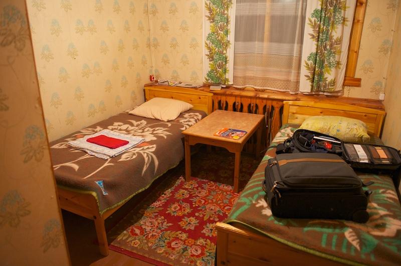 Маленькая гостиница в а/п Мар-Кюель