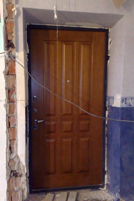 Дверь изнутри