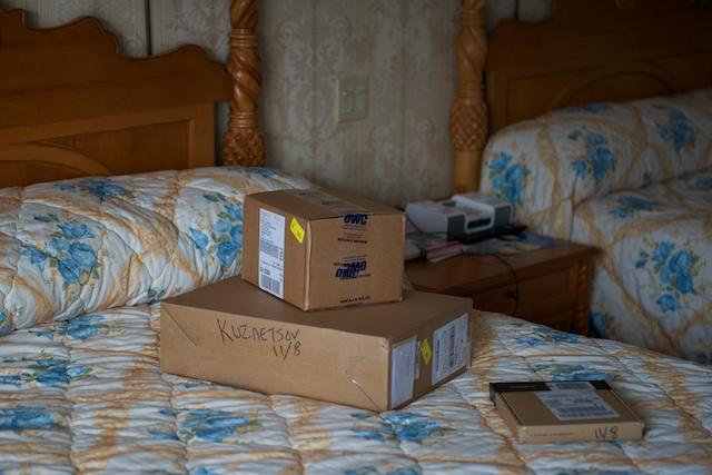 Ещё коробочки...